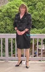 Suit 53a (Melissa451) Tags: highheels isabella satinsuit