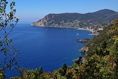 Cinque Terre, blue path (EX1500) Tags: italy wandelen liguria cinqueterre vernazza monterosso italie hikingtrail bluepath