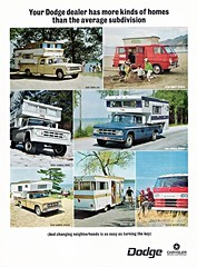 family home wagon drive cab ad special crew dodge trucks motor 1968 chassis d200 camper motorhome 4wheel w200 a108