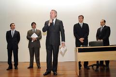 Edgard Hermelino Leite Júnior abre oficialmente o evento