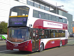 VOLVO B5LH Wright Eclipse Gemini 3 - Lothian Buses (scotrailm 63A) Tags: buses coaches lothian