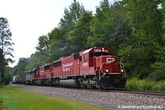 CP 6249 EMD SD60 (DB41) (Trucks, Buses, & Trains by granitefan713) Tags: train dh canadianpacific cp freighttrain manifest emd sd60 delawarehudson mixedfreight emdsd60 quickturn sunburysub emdpower cppower cpsunburysub