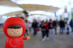 Expo Milano (Kewty-pie) Tags: travel milan girl toy expo mini figure traveling series2 toyphotography treeson