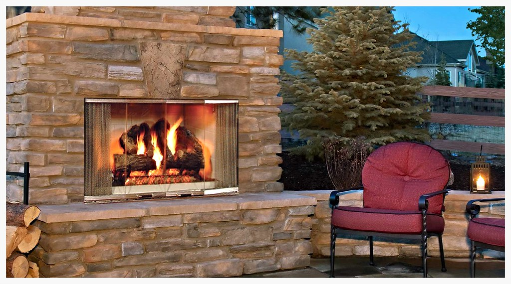 "Monessen Montana 36"" Outdoor Fireplace"