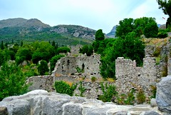 DSC_5294 (Eugene Korotya) Tags: travel blue sea summer vacation sun mountain holiday building green nature yellow architecture landscape photography healthy nikon ruins warm hiking adventure oldcity adriatic montenegro 2015