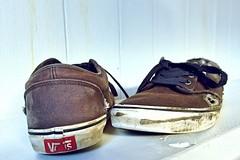 130/365 Vans ([] [] [] Just Life [] [] []) Tags: shoes skate worn vans