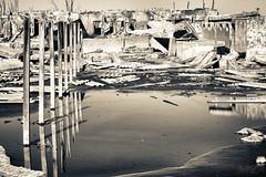 Destrucción (manuelzaldua) Tags: byn ruinas hdr abandono destruccion carhue epecuen