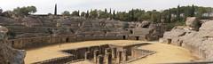 Anfiteatro batica (taylor_pj) Tags: architecture arquitectura roman panoramic romano panormica itlica