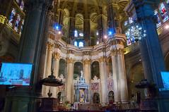 Malaga Cathedral - Interior