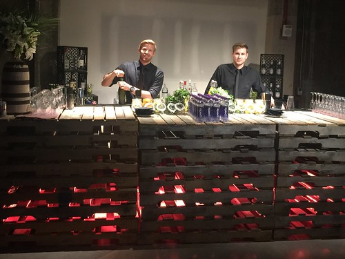 NeueHouse LA KRCW event with Disclosure! Great team of servers & bartenders who crushed it tonight!