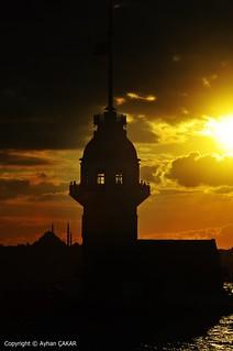 Sunset Maiden's Tower