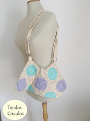 IMG_0468 (tejidoscirculos) Tags: bag handmade crochet cartera bolso ganchillo uncinetto fatbag hakeln tejidoscirculos