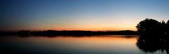 Lago di Varese. (*Valentina.) Tags: november autumn sunset wild italy panorama lake colors canon landscape lago italia tramonto novembre natura panoramic panoramica autunno colori paesaggio crepuscolo d550 lagodivarese