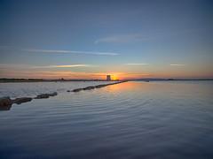 Saline di Trapani #02 (Samuele Silva) Tags: sunset sky windmill clouds tramonto tetto wind sale cielo sicily saline sicilia mulino vento trapani tegole