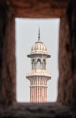 Jama Masjid, Delhi (ghostwheel_in_shadow) Tags: india tower asia minaret delhi islam religion mosque cupola dome spirituality masjid jamamasjid publicarchitecture architecturalelement religiousarchitecture nationalcapitalterritory architectureandstructures mosquefeatures