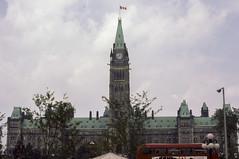 077 1982-08-09 Parliment Hill, Ottawa (crobart) Tags: 1982 ottawa hill slide august kodachrome slides parliment