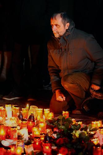 Prague prays for Paris