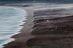 WonderLand ll (Larry Nienkark) Tags: ocean california seascape beach fog landscape nationalpark farm pacificocean marincounty pointreyes seashore southbeach pointreyesnationalseashore tiltshift