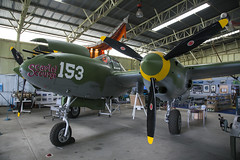 P38H Lightning (oz_lightning) Tags: heritage history interior military australia adelaide sa aus southaustralia aeroplanes parafield canonef24105mmf4lisusm canon6d