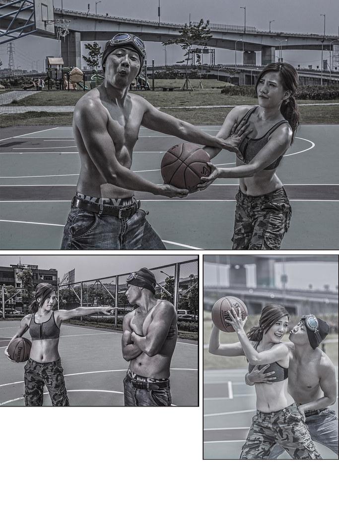 籃球故事婚紗,basketball