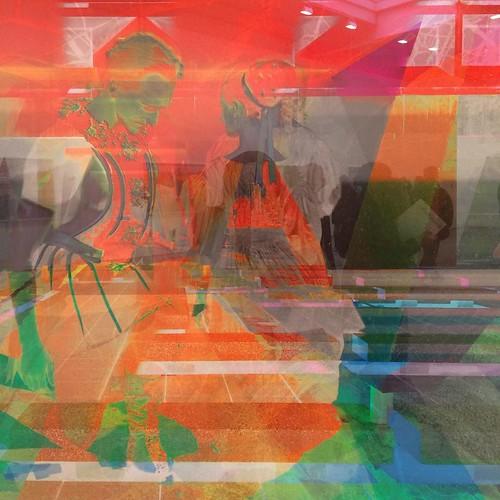 Beautiful exhibit #jameswelling #riadarttour #riadarttours #art #chelsea #nyc
