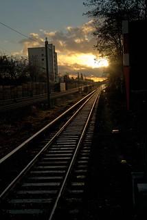 Fahrt in den Sonnenuntergang 2016