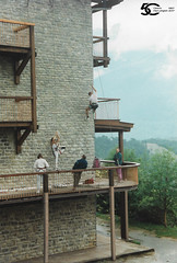 Stage d'escalade en 1995 et 1996 (CAES du CNRS) Tags: aussois centre paullangevin caes du cnrs village vacances vincennes france de savoie 50 ans anniversaire cpl olympiades escalade stage