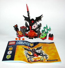lego 70335 nexo knights ultimate lavaria 2016 a (tjparkside) Tags: lego 70335 nexo knights ultimate lavaria 2016 misp crossbow snake snakes powers app wings spider legs minifigure minifigures mini fig figures figure cloak hood weapon weapons staff 3 power ammo sheild spear bat wing winged