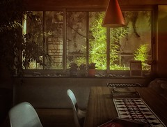Glowing Bamboo (humeid) Tags: ifttt 500px room window furniture indoors house home seat table chair interior design wood no person light inside architecture concrete