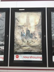 fantastic beasts and where to find them (timp37) Tags: movie poster indiana schererville 2016 december fantastic beasts where find them 12 sign