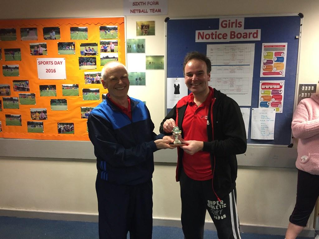 Chairman's Bonus Points Award - Neil