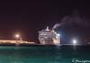 Entrada nocturna (josmanmelilla) Tags: melilla mar barcos trasmediterranea nocturna sony puerto pwmelilla