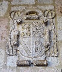 Escudos heraldicos Obispo Don Francisco Tello de Sandoval Burgo de Osma Soria 15 (Rafael Gomez - http://micamara.es) Tags: don francisco tello de sandoval escudos heraldicos burgo osma soria heráldicos