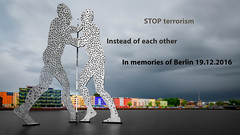 in memories of berlin 19.12.2015 (riese.laurenc) Tags: laurencrieselrephotographytimelapse stopterrorism stop terrorism memories berlin 19122015 inmemoriesofberlin19122015 instead each other insteadofeachother
