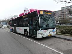 BRENG bus 4481 Nijmegen (Arthur-A) Tags: breng connexxion nijmegen hermes gelderland nederland netherlands mercedes citaro bus bussen buses autobus pink roze