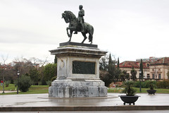 The Equestrian Statue of General Prim (NTG's pictures) Tags: barcelona parc de la ciutadella the equestrian statue general prim