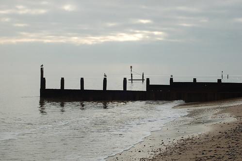 Calm sea at Southwold