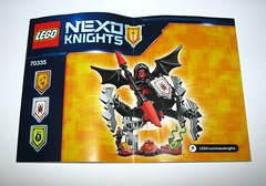 lego 70335 nexo knights ultimate lavaria 2016 l instruction manual (tjparkside) Tags: lego 70335 nexo knights ultimate lavaria 2016 misp crossbow snake snakes powers app wings spider legs minifigure minifigures mini fig figures figure cloak hood weapon weapons staff 3 power ammo sheild spear bat wing winged
