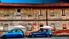 Happy Valentine's Day (Marco Trovò) Tags: marcotrovò canong1x hdr civesio italia italy strada street abandonedhouse casaabbandonata car auto