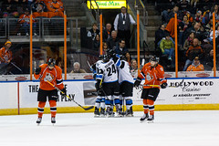 "Missouri Mavericks vs. Wichita Thunder, February 3, 2017, Silverstein Eye Centers Arena, Independence, Missouri.  Photo: John Howe / Howe Creative Photography • <a style=""font-size:0.8em;"" href=""http://www.flickr.com/photos/134016632@N02/32561331252/"" target=""_blank"">View on Flickr</a>"