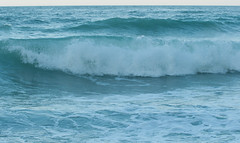 DSC_7626 (Michele d'Ancona) Tags: mare scogli agitato mosso schiuma onde azzurro vela