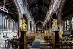 St Mary's Church, Nottingham (roderick smith) Tags: stmaryschurch nottingham churchaisle thelacemarket canon eos6d sigma1224mm