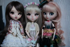 Maxine, Faustine et Candice (leexymulan) Tags: pullip azazelle poison girl io