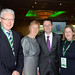 Minister Patrick O'Donovan with Mary and Elaina Fitzgerald, Woodlands House Hotel, Limerick and Brian Harrington, Radisson Hotel, Limerick