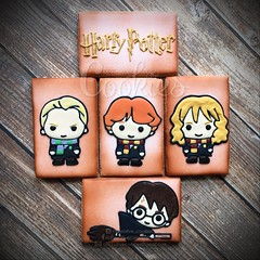 Harry Potter (cREEative_Cookies) Tags: baby shower babyshower cookies harry potter elephant chic birds mason jar lace delicate flower sports its boy girl blessed baptism crib teddy bear kokeshi dolls sunshine clouds happy flowers girly boyish sugar edible art theme custom royal icing baked adorable roses daisies fondant booties shoes onesies bibs personalized sugarveil
