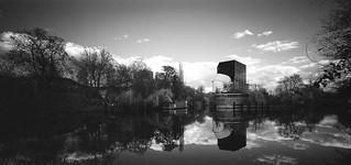 Versuchsanstalt für Wasserbau Infrarot Film Linhof 612 PCII