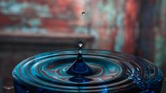 Old Wood New Water (Laith Stevens Photography) Tags: water drops old timber olympus omd olympusinspired omdem1 olympusomd mk2 zuiko1240mmf28pro em1mkii em1mk2 door aqua blue wet dry studio laith stevens
