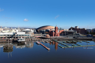 Cardiff Bay From the Air