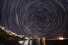 Swirling (Siminis) Tags: siminis heraklio crete greece polaris startrails starrynight stars nightsky starstax