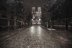 sans titre-42 (sebastienloppin) Tags: sigma sigma1224f4 uga night reims reimsbynight igersreims neige snow weather canon canoneos6dmarkii 6dmarkii 1224 12mm street landscape
